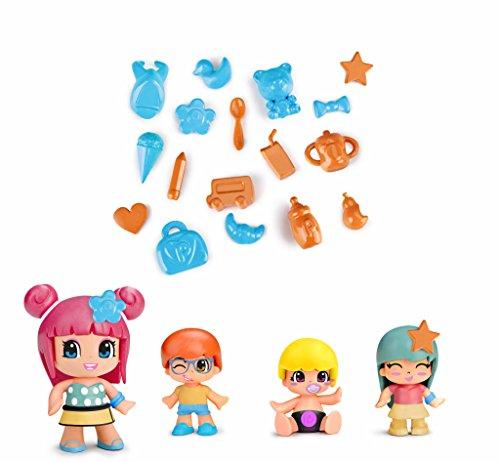 Pinypon Pack de 4 figuras bebés (Famosa 700014101)