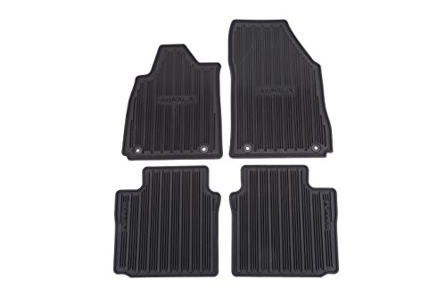 GM Accessories 17800408 Front Carpeted Floor Mats in Ebony with Cadillac Logo General Motors