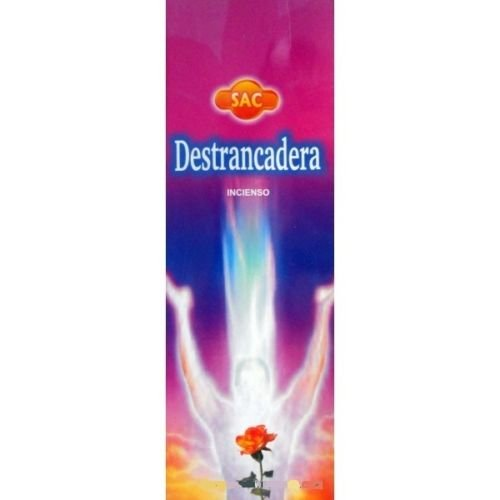 Incienso SAC Destrancadera (olor a almizcle y oriental) - Set de 6 paquetes hexagonales
