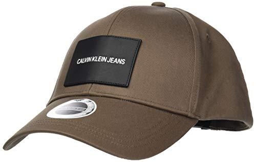 Calvin Klein Patch Cap Gorra de bisbol para Hombre