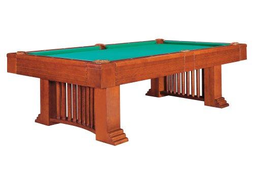 Billardtisch Dynamic Romance, 8 ft. (Fuß), antik-braun, Pool, incl. Abdeckung