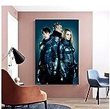 Baldrian Poster Cara Delevingne Filmplakat Wandmalerei