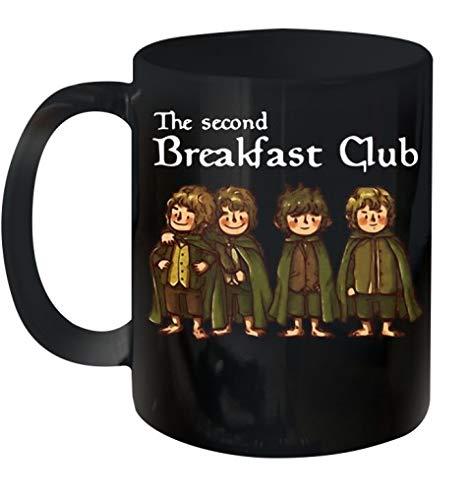 THE SECOND BREAKFAST CLUB CERAMIC MUG 11OZ
