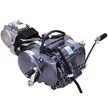 GDAE10 125CC Air-Cooled 4-Stroke Motor Engine Pit Dirt Bike ATV Quad Kit Manual Clutch Gasoline Engine for Homda CRF50F 00-09 11-15 / XR50 / XR70 / Z50 / CRF70 1P52FMI Engine
