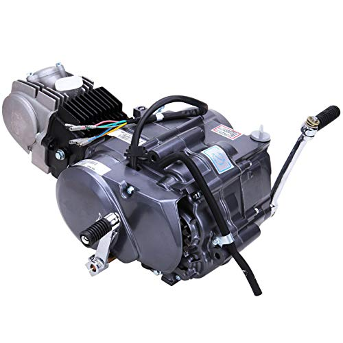 Fetcoi 125CC 4-Takt Motor Getriebemotor, luftgekühlt Motor Engine, Air-cooled Auto Motor Engine für Dirt Bike Motorcycle (CRF50 XR50 CRF70)
