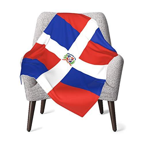 MDFE República Dominicana Manta suave cálida para bebé, para niños, niñas, niños, recién nacido