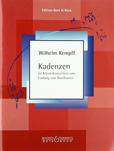 Kadenzen: zu Klavierkonzerten von Ludwig van Beethoven. Klavier.
