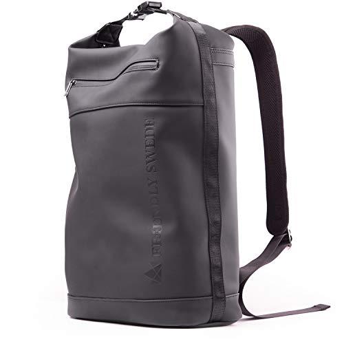 The Friendly Swede Tagesrucksack - 2-in-1 Rucksack Tasche, Laptoptasche 15 Zoll - Totepack ideal als arbeitstasche, Uni Rucksack, Schultasche Damen- und Herren Wasserabweisend - EKEBY