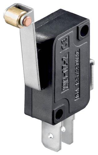 Goobay 10184 Mikroschalter - Wechselschalter/ 1 Polig schwarz