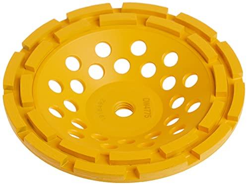 DEWALT Grinding Wheel, Double Row, Diamond Cup, 7-Inch (DW4775)