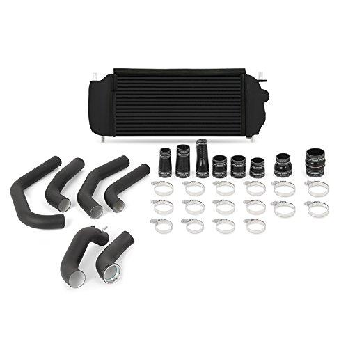 Mishimoto MMINT-F27T-15KBBK Performance Intercooler Kit Compatible With Ford F-150 EcoBoost 2015-2017 Black, Black