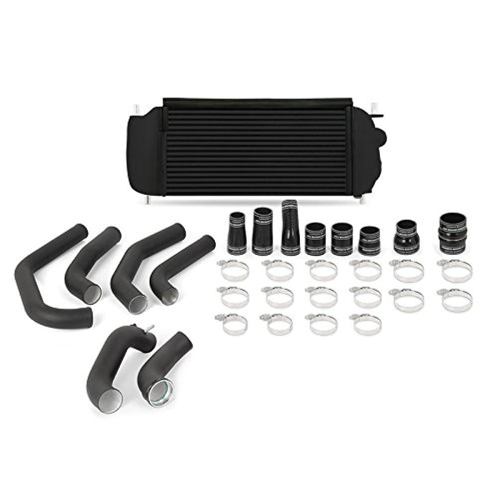 Mishimoto MMINT-F27T-15KBBK Ford F-150 2.7L EcoBoost Intercooler Kit, 2015-2017 Cooler Black Pipes