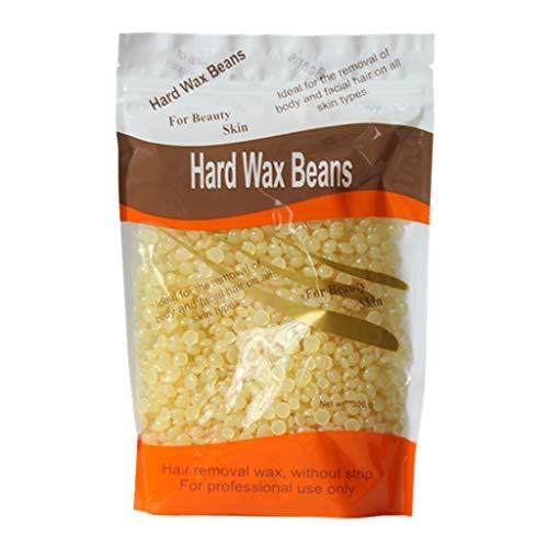 sharprepublic 100g Wachs Haarentfernung Hard Wax Beans Wachsbohnen Heißer Film Wachsen, Natürliche Inhaltsstoffe - Honig
