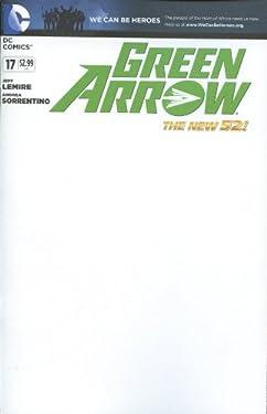 Green Arrow #17 Blank Variant Comic Book 2013 New 52 - DC