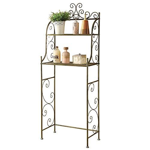Badkamer plank, Duurzaam koolstofstaal Metal Shelf, 2-laags Douche Shelf, Keuken Storage Shelf, Rust Proof Rack