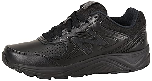 New Balance WW840V2, Chaussures de Randonnée Basses Femme, Black (Black/Black/Black Bk2), 45.5 EU