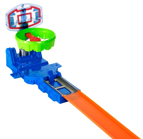 Mattel - 329041 - Hot Wheels Track Builder Hoop Shot Deluxe Stunt Set