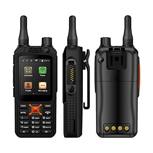 L&Z Teléfono Celular inalámbrico F22 Walkie-Talkie + teléfono Celular 4G 2.4 Pulgadas Teléfono móvil SOS al Aire Libre, con Zello Software PPT Android