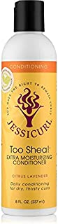 Jessicurl Too Shea Extra Moisturizing Conditioner, Citrus Lavender, 8.0 Fluid Ounce