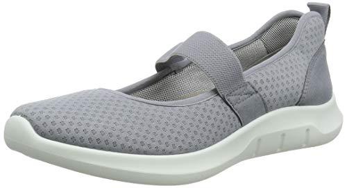 Hotter Women's Flow Active Shoe Gray 6 US Active Shoes