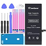 Battery for iPhone 7 Plus, uowlbear 3900mAh High Capacity Battery for 7 Plus...
