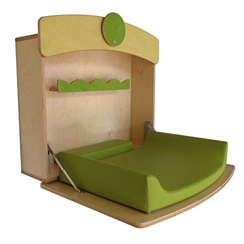 Fasciatoio a scomparsa a parete per bambino il tutto in legno MADE IN ITALY ��