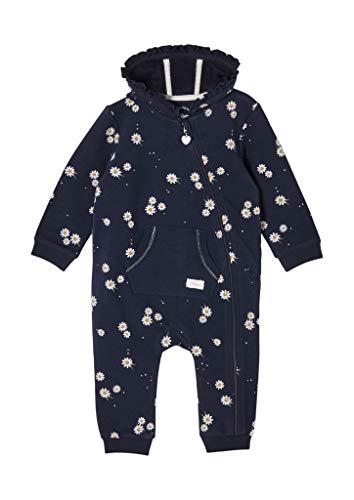 s.Oliver Junior Baby-Mädchen 405.10.102.20.201.2058422 Einteiler, Blue, 92