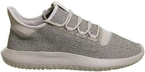 adidas Herren Tubular Shadow Fitnessschuhe, Silber (Vapour Grey F16/Raw Pink F15), 43 1/3 EU