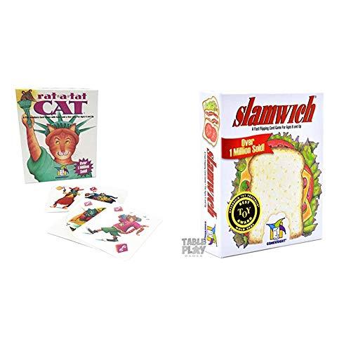Rat-A-Tat-Cat + Gamewright Slamwich
