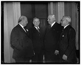 HistoricalFindings Photo: Dean of House,Host,Governor AJ Sabath,Henry Horner,William H Dieterich,1937