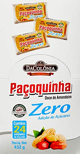 Display Pacoca Rolha Zero 432G (24X18G)