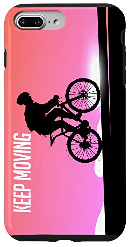 iPhone 7 Plus/8 Plus Bike Cycling Cool Gift Keep Moving Case