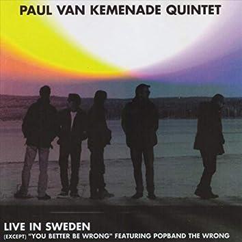 Paul Van Kemenade Quintet: Live in Sweden