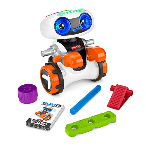 Fisher-Price Code 'n Learn Kinderbot, Interactive Preschool Robot Toy That Teaches Early...