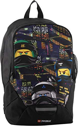 Lego Bags, Ninjago Urban, Zaino per la scuola, 350 g, 16,5 litri, 40 x 26.5 x18 cm