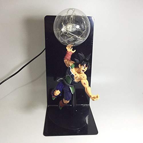 Luz Nocturna Goku Fuerza Bombas Lámpara de Bombilla Dragon Bola Lámpara de Casa Lámpara de Mesa Niño Juguete Led