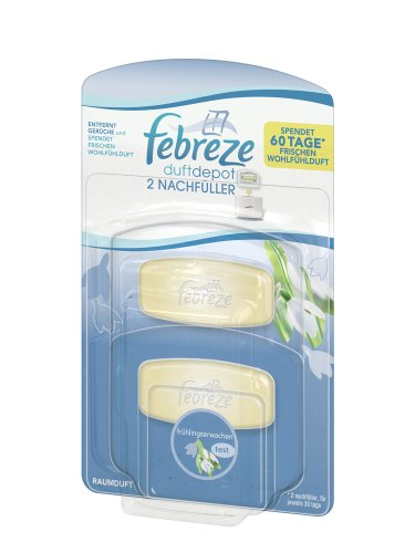 Febreze Duftdepot Frühlingserwachen Starter Nachfüller, 2er Pack (2 x 5,5 ml)