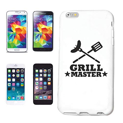 Helene telefoonhoes compatibel met Samsung Galaxy S4 i9500 Grill Master Grill Grill BBQ STEAKHardcase beschermhoes telefoonhoes Smart Cover