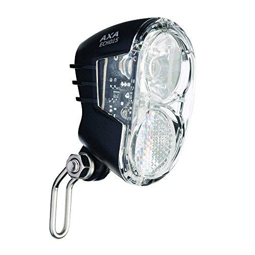 AXA 1X voorlamp koplamp Echo, zwart, 10 x 5 x 3 cm