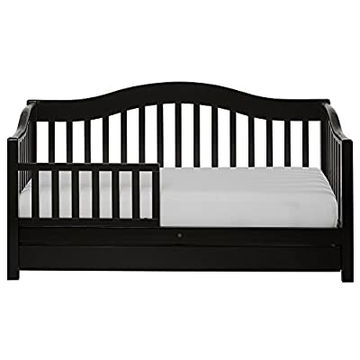 Dream On Me Toddler Day Bed, Black (652-K)