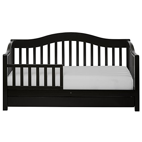 Dream On Me, Toddler Day Bed with Storage Drawer, Black