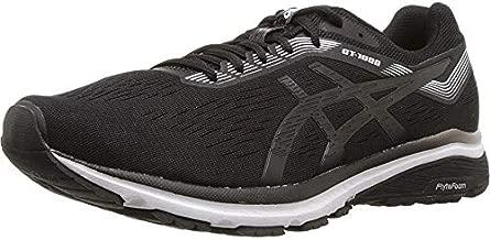 ASICS Men's GT-1000 7 Running Shoes, 12, Black/White