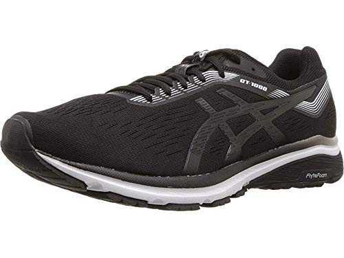 ASICS Men's GT-1000 7 Running Shoes, 10M, Black/White