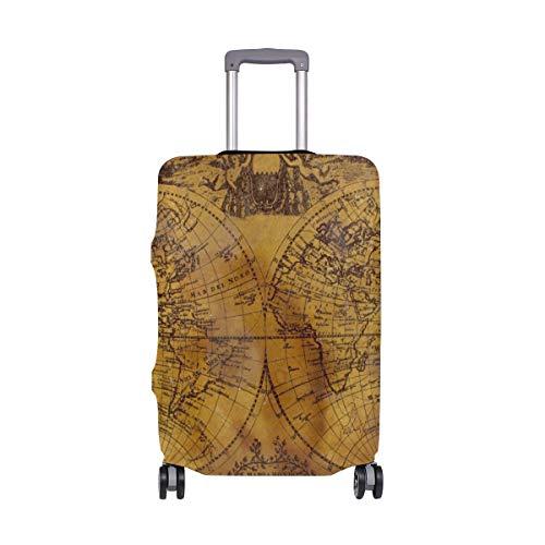 Funda Protectora para Maleta de Viaje con diseño de Mapa náutico Retro, Color...