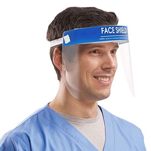 Gesichtsschutz Schützen Sie Augen und Gesicht mit einem elastischen Schutzfolienband und einem Komfortschwamm (10 Packungen) (Verkauf LOYLOVEU)