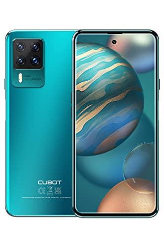 CUBOT X50 Téléphone Portable, Smartphone Android 11 avec Quad Caméra 64MP, 6.7 Pouces Grand Écran, Batterie 4500mAh, 8GB RAM/128GB ROM, Dual SIM, NFC, Vert