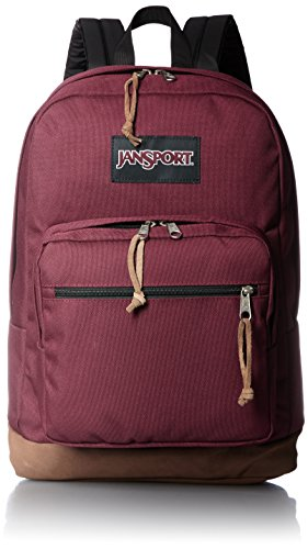 JanSport Right Pack 15 Inch Laptop Backpack - Any Occasion Daypack, Russet Red