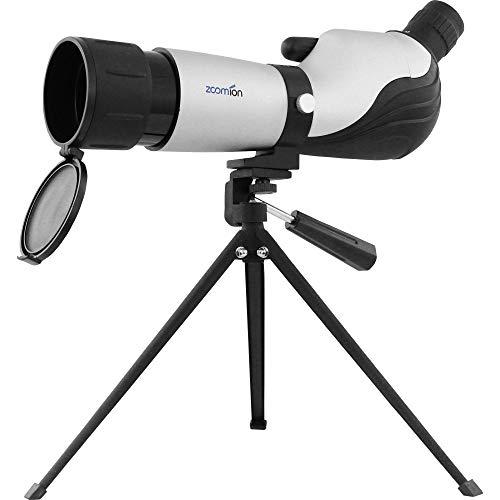 Zoomion Lynx Cannocchiale da osservazione 20-60x60 per Il Birdwatching e Il tiro Sportivo - treppiede antispruzzo Oculare con oculare Zoom Multistrato