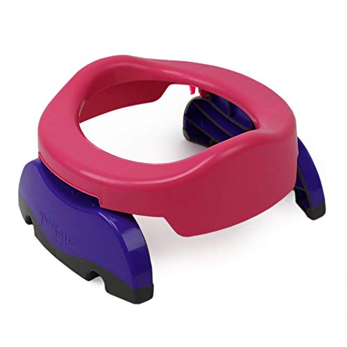 Potette Plus 2-in-1 Compact Travel Potty & Toilet Training Seat | Potty...