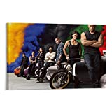 NENBN Fast And Furious HD8 - Póster decorativo para pared (40 x 60 cm)